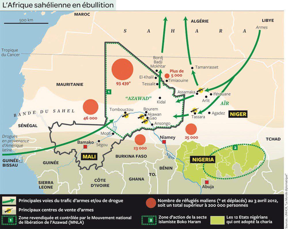 L'Afrique sahélienne en ébullition