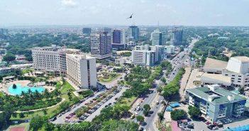 Ghana, Capitale, Accra, récession