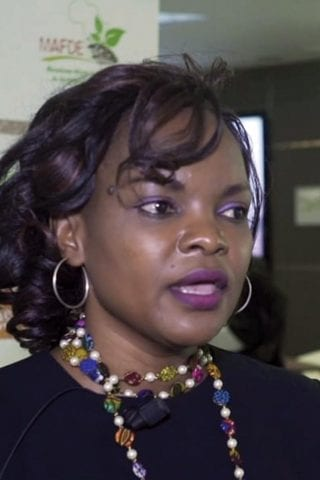Marie-Claire Kalihangabo, coordinatrice du MAFDE