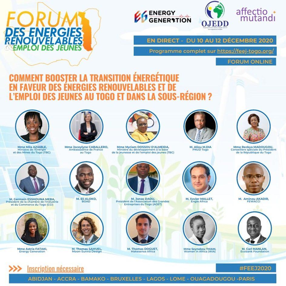 forum lome enrgies renouvelables
