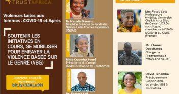 trust africa violences aux femme covid 19