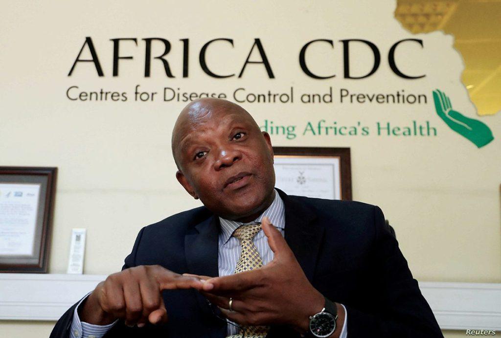 John Nkengasong, Directeur du Centre africain de contrôle et de préventions des maladies (CDC Afrique)