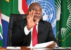 Le Président sud-africain Cyril Ramaphosa s'en prend violemment au nationalisme vaccinal