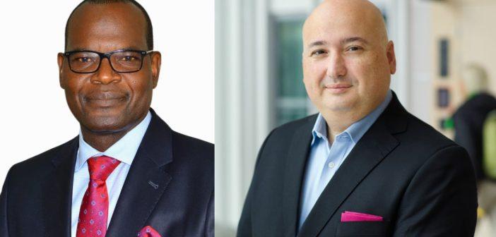 Le-Secretaire-general-de-lUAT-M.-John-Omo-et-Fadi-Pharaon-President-dEricsson-Middle-East-Africa