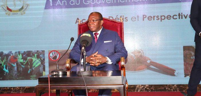 Le Premier ministre guinéen devant les parlementaires