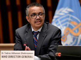 Tedros Adhanom Ghebreyesus Directeur général, Organisation mondiale de la santé (OMS)