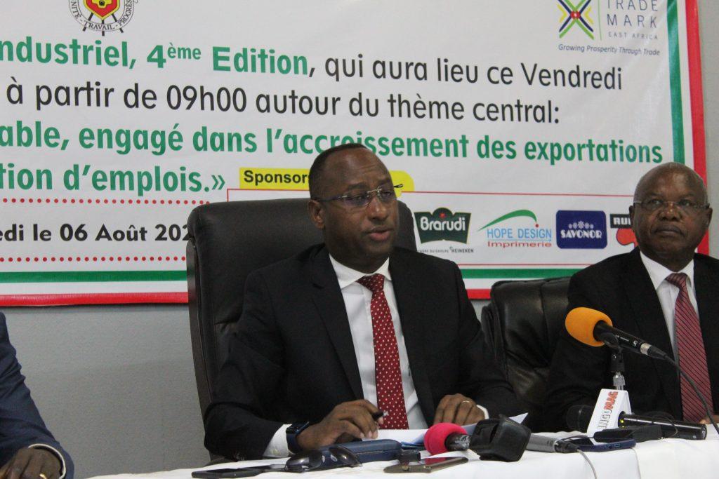 Christian Nibasumba : « TradeMark garde son approche de travailler étroitement avec les industries de la CEA, les gouvernements des pays membres, le secteur privé, les organisations de la société civile »
