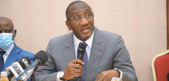 Souleymane Diarrassouba, ministre ivoirien du Commerce et de l'industrie